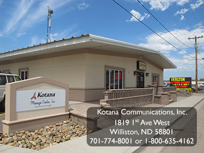 Kotana Communications, Inc - Williston, ND